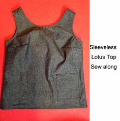 1 Post/Day 3: Lotus Top Sew along