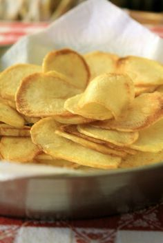 Chips di patate - Sorelle in pentola