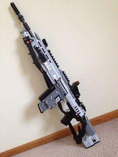 Titanfall R-101C Carbine | Flickr - Photo Sharing! lego