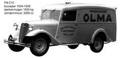 FN 1934 C10 Van (10 for 1000 kgs)