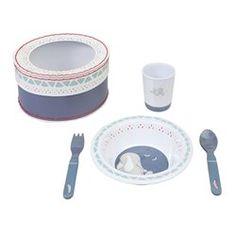Coffret repas Bao et Wapi - Noukies NOUKIE'S - Vaisselle bébé