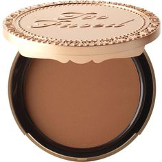 TOO FACED Dark chocolate soleil bronzer (€29) ❤ liked on Polyvore featuring beauty products, makeup, cheek makeup, cheek bronzer and too faced cosmetics