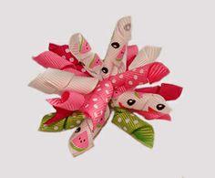 #KRK630 - Korker Dog Bow - Watermelon Sweetness