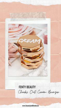 Review | Fenty Beauty Cheeks Out Freestyle Cream Bronzer #review #bronzer #fenty #fentybeauty #creambronzer #sephora #beautyblog #beautyandblonde High End Makeup, Bronzer, Tricks, Sephora, German, Blush, Cream, Board, Inspiration