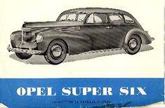 Opel Super Six 1939
