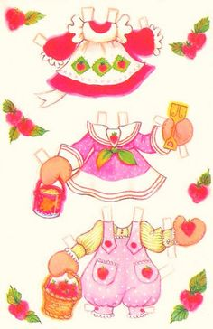 Strawberry Shortcake's Clothes