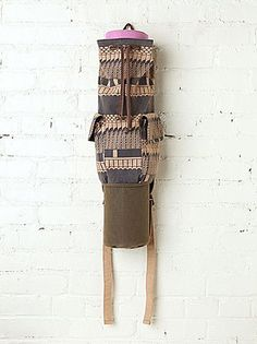 14 Fresh Yoga Mat Bags For Spring: This chic Cobra Yoga Bag ($68) from Free People can be worn as a backpack or slung over one shoulder.
