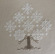 snowflake tree  Winter Forest by The Cricket Collection