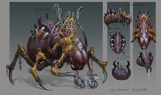 ArtStation - Demon Spider Prince, Yann Blomquist