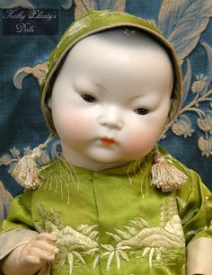 """16"""" ORIENTAL ARMAND MARSEILLE CHARACTER BABY"""