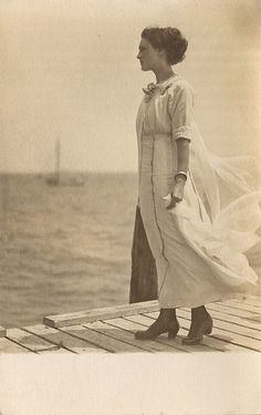 It had seemed so romantic standing there on the edge of the open sea. All winter long she held that memory close like cupping a candle flame from the wind as the Spanish flu ripped through the city.