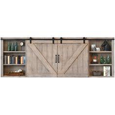 1000+ ideas about Barn Door Tv Cabinet - Pionik