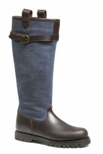 Nieuw in de collectie outdoor laarzen: de Felipa Blauw. Deze outdoor laarzen voor zowel dames als heren is aan de binnenzijde volledig gevoerd met Sympatex® ademend membraam-vezel. #Bootsandwoods