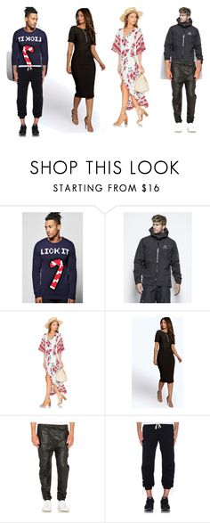 """""""Look Into My Eyes..>>"""" by yagna ❤ liked on Polyvore featuring Boohoo, Arc'teryx, Reverse, I Love Ugly and Reigning Champ"""