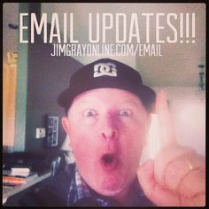 A goofy ploy to get you to sign-up for my email newsletter