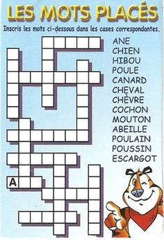 Français Langue Étrangère - A1: animaux