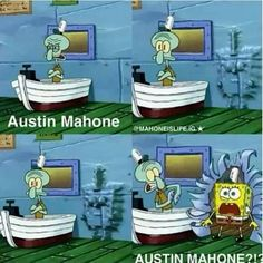 Me when anyone says Austin and or Mahone :D for @Julie Forrest Hamblen Clemmons Norris