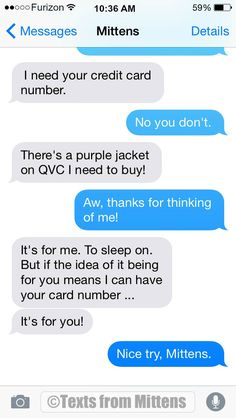 Texts from Mittens - NEW Daily Mittens: The Purple Jacket Edition More...
