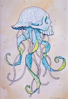 skull jellyfish
