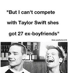 the only reason i put this on here is because i hate when people do this and for your information she only has7 ex-boyfriends so stop making fun of tay what did she ever do to you?