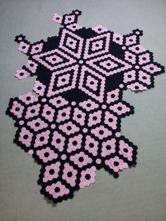 Work in Progress - Hand pieced Hexagon quilt by Fiona