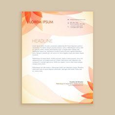 Color Letter Pad Design | Graphic View |