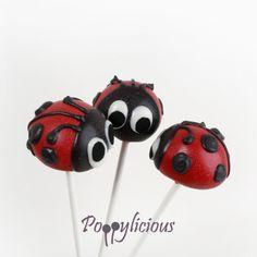 Cake pops lieveheersbeestjes www.poppylicious.nl  #cakepops #lieveheersbeestjes #ladybug