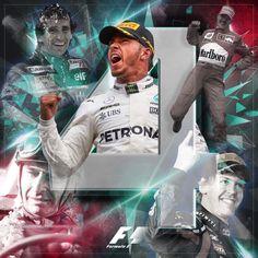 2017 World Champion 4 times Lewis F1 2017, Fourth World, Lewis Hamilton, Ubs, Mercedes Amg, World Championship, Formula One, Champs, First World
