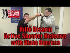 Rifle Disarm: Active Shooter Defense with Alain Burrese