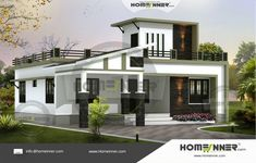 Searching for 1477 sq ft 2 Bedroom Affordable Home Plan Photos ? Then this house plan from the Homeinner collection will amaze you. The stunning plan consist of 2 Bedroom and more . Bungalow House Plans, House Floor Plans, Single Floor House Design, Online Home Design, Free House Plans, Indian Home Design, Modern Floor Plans, 3d Interior Design, Villa Design
