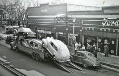 pictures of old ford dealerships - Google Search