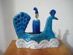 Sarah Noel, Figure In Peacock Boat 3