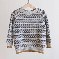 Thors sweater || Mønster får du kjøpt hos @lykkelighandel og denne er strikket av @lykkeplagg.