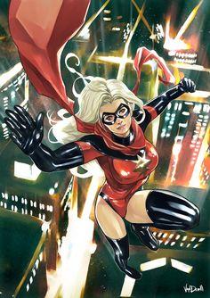 Sexy Marvel Comics | Élla Será la Sexy Ms. Marvel en Los Vengadores?