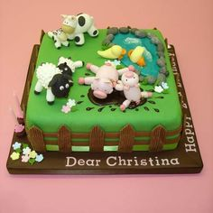 Farm Yard Fun - Cakes 4 Fun cakes and cake decorating