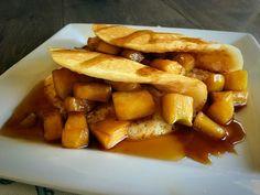 Cinnamon Apple Pie Pancakes ~ Doughmesstic