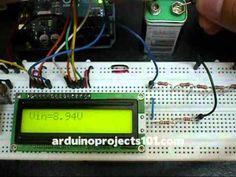 Arduino Projects - Arduino Voltmeter
