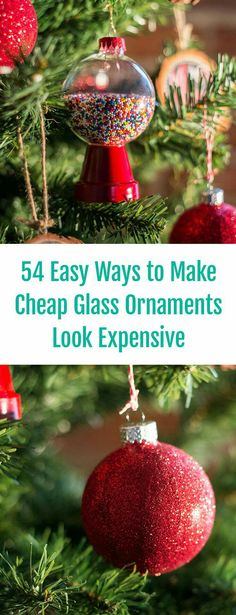 Budget-Friendly Gift Ideas to Make For Your Favorite Couple 54 Easy Ways to DIY Glass Ornaments! Creative Christmas Tree Decor Ideas The post Budget-Friendly Gift Ideas to Make For Your Favorite Couple appeared first on Holiday ideas. Christmas Ornaments To Make, Xmas Crafts, Homemade Christmas, Christmas Tree Decorations, Christmas Holidays, Christmas Ideas, Kids Holidays, Holiday Tree, Outdoor Christmas