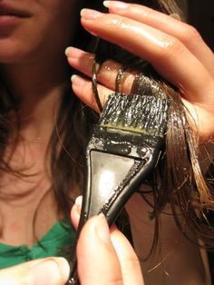 Homemade HAIR MASK - Split ends