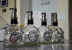 Camelot Art Creations: Hitting The Bottles