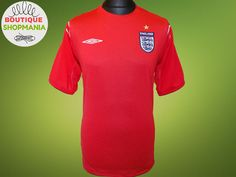 57cf2689b ENGLAND National Away 2004-2006 (L) UMBRO FOOTBALL SHIRT Jersey Maglia  Soccer