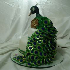cake peacock