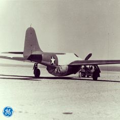 In October of 1942, the Bell XP-59A Airacomet took flight, powered by two #GE I-A #jet #engines - the first jet engines made in the U.S.