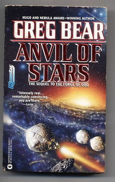 Anvil of Stars Greg Bear sequel to The Forge of God 1993 PB Science Fiction