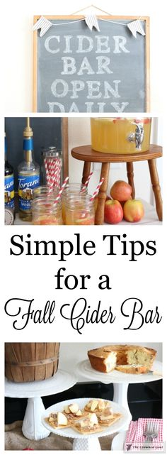 Simple-Tips-for-a-Fall-Cider-Bar-11-377x1024 Simple Tips for a Fall Cider Bar DIY Fall Holidays