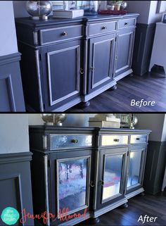 Beautiful Redo Cabinets with Contact Paper