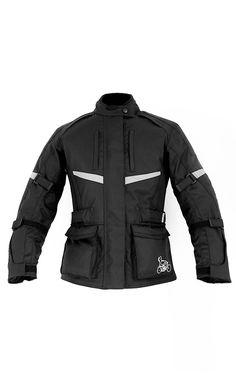 LIMITED EDITION: LadyBiker Maple Ladies Textile Motorcycle Jacket Sizes 20-34 - LadyBiker.co.uk