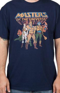 Masters Of The Universe Heroes Shirt: He-Man, Teela, Man-At-Arms, Orko