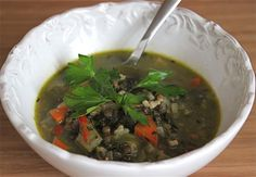 Anti-Inflammatory Foods {A Healthy Healing Vegetable Soup} - Jeanette's Healthy Living