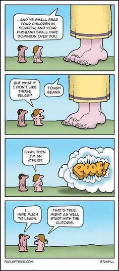 Atheist. Religion. God. Stupid
